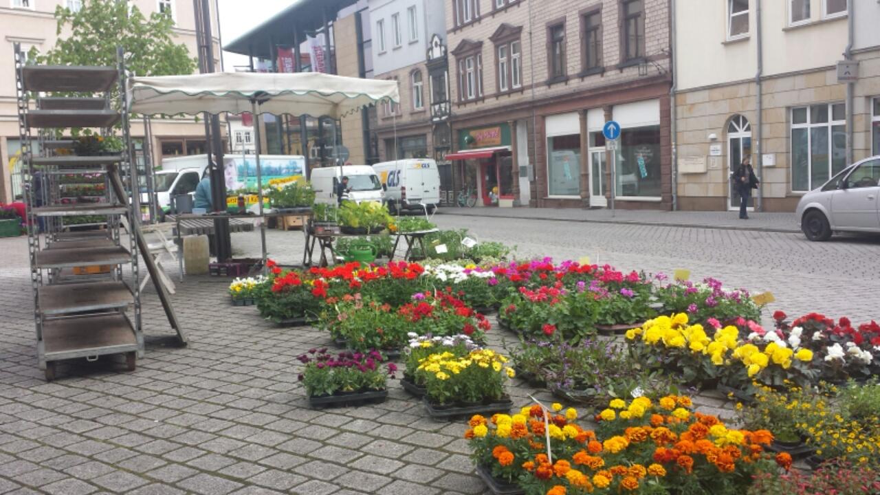 Verkauf am Johannisplatz